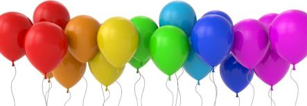 balloons banner