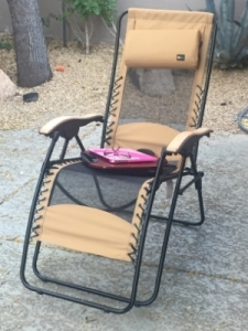 Chey outdoor work recliner