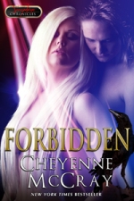 FORBIDDEN, Cheyenne's first erotic romance was with Ellora's Cave and has been rereleased with this fabulous new cover