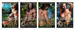 wonderland series banner